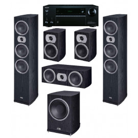 HECO Victa Prime 702 set 5.1 Black /AV ресивер Onkyo TX-NR575E