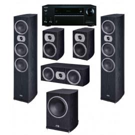 Onkyo TX-NR575E + HECO Victa Prime 702 set 5.1 Black