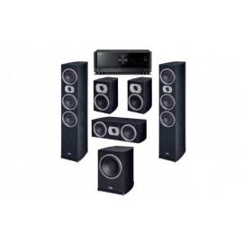 Yamaha RX-V4A + HECO Victa Prime 702 set 5.1 Black