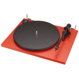 Pro-Ject ESSENTIAL II (OM5e) MATT Red