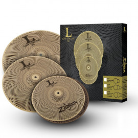 ZILDJIAN LV468 LOW VOLUME L80 CYMBAL SET 14/16/18