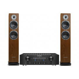 Marantz PM7005 Black + Cabasse Jersey MT 32 Walnut