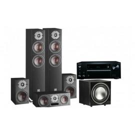 Onkyo TX-NR575E + set 5.1 DALI Oberon 7/1/Vocal/SUB E-9 F