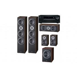 Домашний кинотеатр set 5.1 Onkyo TX-SR252 + Magnat Monitor Supreme 1002/202/center252/sub 202A