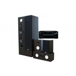 Onkyo TX-NR575E + set 5.0 Taga Harmony TAV–806F/806S/806C