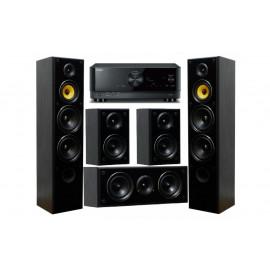 Yamaha RX-V4A + Taga Harmony TAV-606 v.3 Set Black