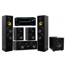 Onkyo TX-NR575E + Taga Harmony TAV-606 v.3 Set 5.1