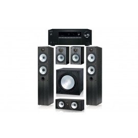Monitor Audio MR4 и ресивер Onkyo TX-SR252