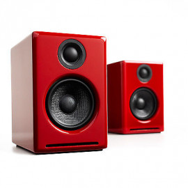 AudioEngine A2+ Powered Desktop Speakers Red