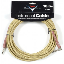 FENDER CUSTOM SHOP PERFORMANCE CABLE 18 6 ANGLED TW