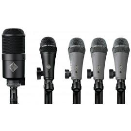 TELEFUNKEN DD5 DYNAMIC DRUM MIC PACK