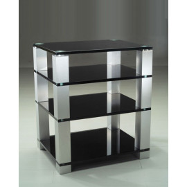 Titan - Elite Hi-Fi stand (Black Glass)