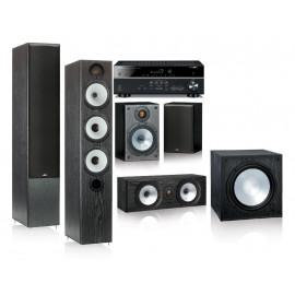 Monitor Audio MR6 и ресивер Yamaha RX-V483