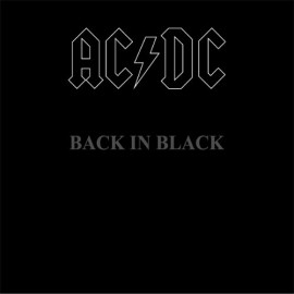 AC/DC - BACK IN BLACK 1980/2003 COLUMBIA/SONY MUSIC/EU MINT (5099751076513)