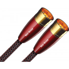 AUDIOQUEST Pair 1.0m Red River XLR