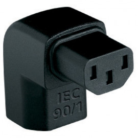 AUDIOQUEST Adaptor IEC-90^/1 Right-Angle Adapter