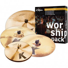 ZILDJIAN WORSHIP K CUSTOM PACK
