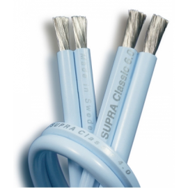 Supra Cable CLASSIC 2X4.0 BLUE 10M