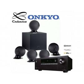 Onkyo TX-SR373 + set 5.1 Cabasse Alcyone 2