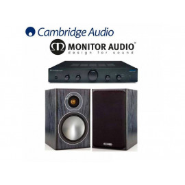 Cambridge Audio Topaz AM5 + Monitor Audio Bronze1