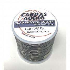 Cardas Quad Eutectic Roll Solder 0.45kg/1 lb