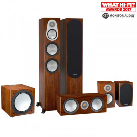 Monitor Audio Silver 300/50/centre150/W12 walnut