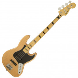 FENDER SQUIER VINTAGE MODIFIED JAZZ BASS 70S MN NAT
