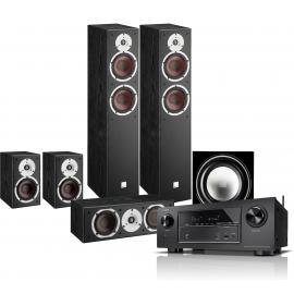 Denon AVR-X1600H + Dali Spektor set 5.1 Black
