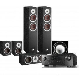Denon AVR-S650H (5.1 сh) + Dali Spektor set 5.1 Black