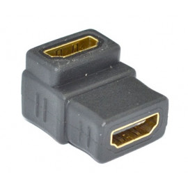 MT-Power HDMI Female to Female Adaptor, Right Angel type