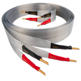 Nordost Tyr-2 ,2x2m is terminated with low-mass Z plugs