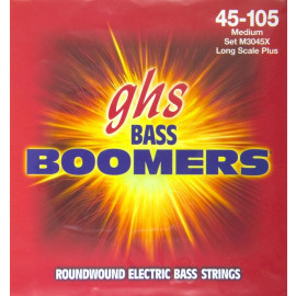 GHS STRINGS M3045X BASS BOOMERS LONG+MEDIUM