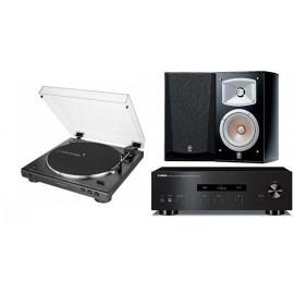 Audio-Technica AT-LP60X Bluetooth/ Yamaha R-S202 / Yamaha NS-333