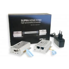Supra EXTENDER HDMI XT80 2XCAT7