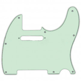 FENDER FENDER PICKGUARD FOR TELECASTER 3-PLY MINT GREEN