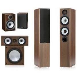 Monitor Audio MR4/MR1/MRcentre/MRW-10 set 5.1 Walnut
