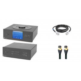 Pro-Ject CD BOX/DAC BOX RS Super pack - BLACK