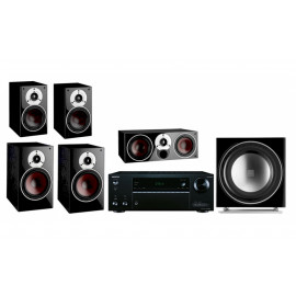Onkyo TX-NR575E + set 5.1 Dali Zensor 3/1/Vokal/Sub E-9 F