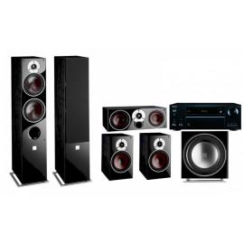 Dali Zensor 7 set 5.1 7/1/Vokal/sub E-9/AV ресивер Onkyo TX-NR555