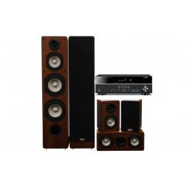 Домашний кинотеатр set 5.0 Yamaha RX-V383 + Taga Harmony TAV-406 v.2 Set WALNUT