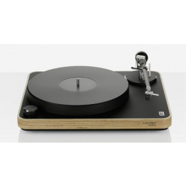 Clearaudio Concept Active (MC) Black with wood (all-in-one-system c