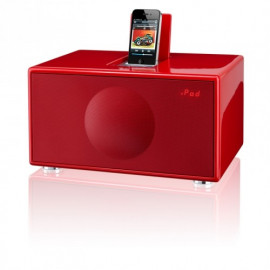 Geneva Sound System Model M (clock radio) - Red