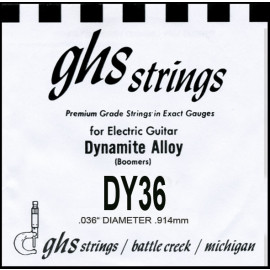 GHS STRINGS DY36