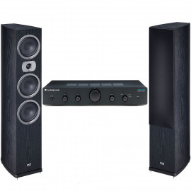 Cambridge Audio Topaz AM5 + Heco Victa Prime 702 Black