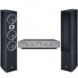 Cambridge Audio AXA25 + Heco Victa Prime 702 Black