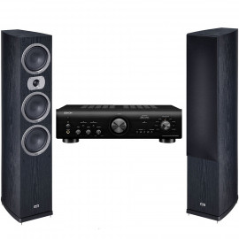 Denon PMA-600NE + Heco Victa Prime 702 Black