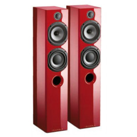 Triangle Color Floorstander Red Piano Lacquer