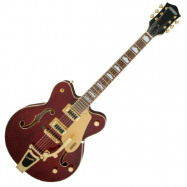 GRETSCH G5422TG ELECTROMATIC HOLLOW BODY DOUBLE CUT WALNUT STAIN GOLD HARDWARE