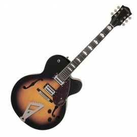 GRETSCH G2420 STREAMLINER w CHROMATIC II LR BROOKLYN BURST