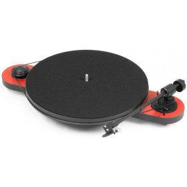 Pro-Ject ELEMENTAL (OM5e) - RED/BLACK